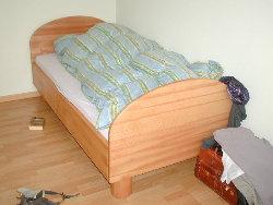 Bett erhöhen